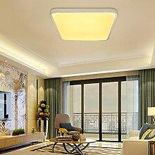 VINGO 50W LED Deckenleuchte Warmweiß Eckig