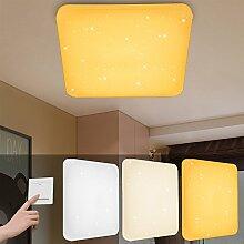 VINGO® 60W LED Deckenlampe Farbwechsel 3in1