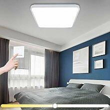 VINGO® 60W LED Deckenleuchte Eckig kaltweiß