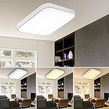 VINGO® 60W LED Deckenleuchte Farbwechsel