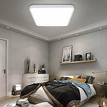 VINGO® 60W LED Deckenleuchte kaltweiß Eckig