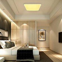 VINGO® 60W LED Deckenleuchte warmweiß Eckig