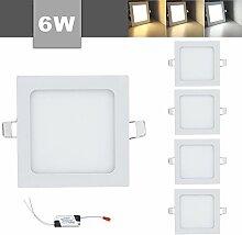 VINGO 6Wx5 Einbauleuchte LED Panel Farbwechsel 3