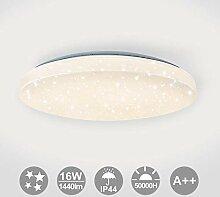 VINGO Deckenleuchte, 16W LED Deckenlampe mit
