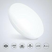 VINGO Deckenleuchte LED Deckenlampe 4500K