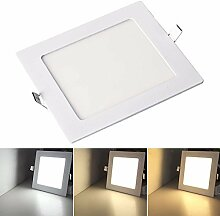 VINGO Einbauleuchte LED Panel Farbwechsel 3 in 1