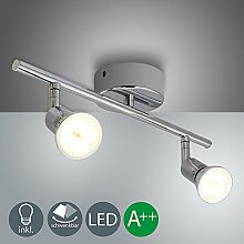 VINGO® GU10 LED Deckenlampe Modern Deckenspot 2X