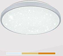 VINGO LED Deckenleuchte, 60W Farbwechsel