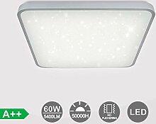 VINGO LED Deckenleuchte, 60W Weiß