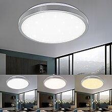 VINGO® LED Deckenleuchte Starlight Effekt