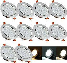 VINGO® LED-Einbaustrahler 12W mit 12