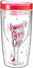 Vingo Mommy's Sippy Cup Wine Tumbler, Multicolor by Happy Hour