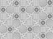 viniliko Teppich Boho Style, Vinyl, grau, 100x 133x 3cm