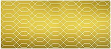 viniliko Teppich, Vinyl, gold, 66x 150x 3cm