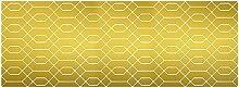 viniliko Teppich, Vinyl, gold, 66x 180x 3cm