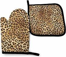 Vinkde Leopard Skins Buntes Wildtier EIN Aquarell