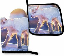 Vinkde Little Baby Goat Sunset Coole Galaxie Funny