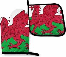 Vinkde Welsh Flag Wales Red Dragon Wassermelone