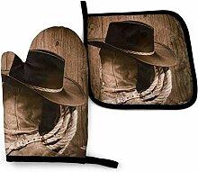 Vinkde Western Cowboystiefel Cool Galaxy Funny