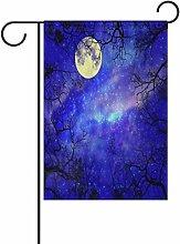 vinlin Garten mit der Flagge der Nacht-Stern mit