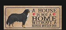 VinMea Holzbrett, Berner Sennenhund, Dogplaque,