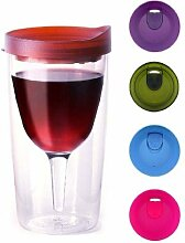 Vino2Go Wine Lovers Gift Set Merlot Top Tumbler