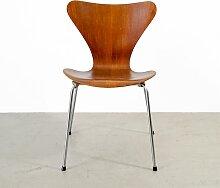 Vintage 3107 Series 7 Stuhl von Arne Jacobsen für