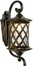 Vintage Außenlampe, Rustikale Aussenleuchte,