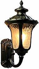 Vintage Außenleuchte Außenlampe, E27 Wasserdicht