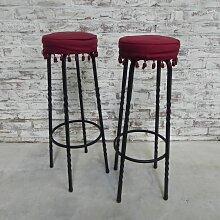 Vintage Barhocker, 2er Set