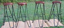 Vintage Barhocker, 4er Set