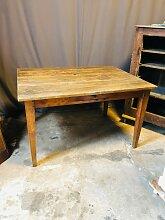 Vintage Bauerntisch aus Holz