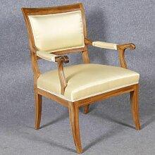 Vintage Biedermeier Armlehnstühle, 1920er, 2er Set