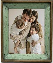 Vintage Bilderrahmen 25x30 aus echtem Tannenholz,