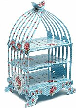 Vintage blau Vogelkäfig Cupcake-Ständer–British ländlichen Serie Papier Décor für festliche und besondere Anlässe von trimmen Shop®