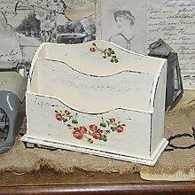 Vintage Briefablage Holzablage Ablage Tischdeko
