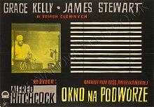 Vintage Das Fenster zum Hof Filmplakat von Witold
