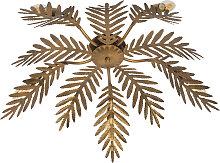 Vintage Deckenleuchte 5-flammig Gold - Botanica