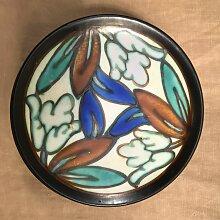 Vintage Dessertteller aus Keramik von Antoine