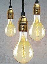 Vintage Edison Glühlampe Retro Lampe Filament XL