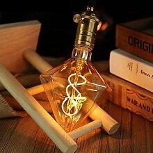Vintage Edison LED Glühbirne, ZMH Retro Edison