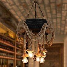 Vintage Edison Pendelleuchte E27 Lampenfassung