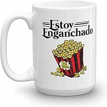 Vintage Estoy Enganchado Popcorn Mexican Style