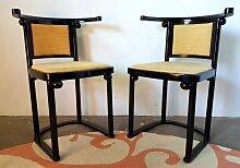 Vintage Fledermaus Esszimmerstühle von Josef