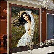 Vintage Fototapete 3D Wallpaper für Wände