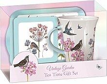 Vintage Garden - Tee Set - Tea Time Geschenkse