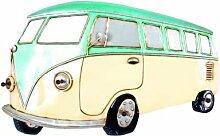Vintage Garderobe Bulli VW BUS T1 Metall Industrial Wohnliebhaber(BHT 67x42x8cm)