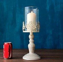 Vintage geschnitzt groß schmiedeeiserne Leuchter Kerze Lampe,Königin