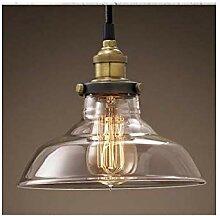 Vintage Glaslampe
