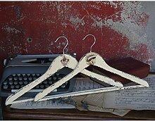 Vintage Holzkleiderbügel 2 tlg. Kleiderbügel Bügel Holz Kleideraufbewahrung